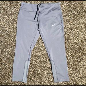 Nike Running Women's Reflective 3/4 Running Pants